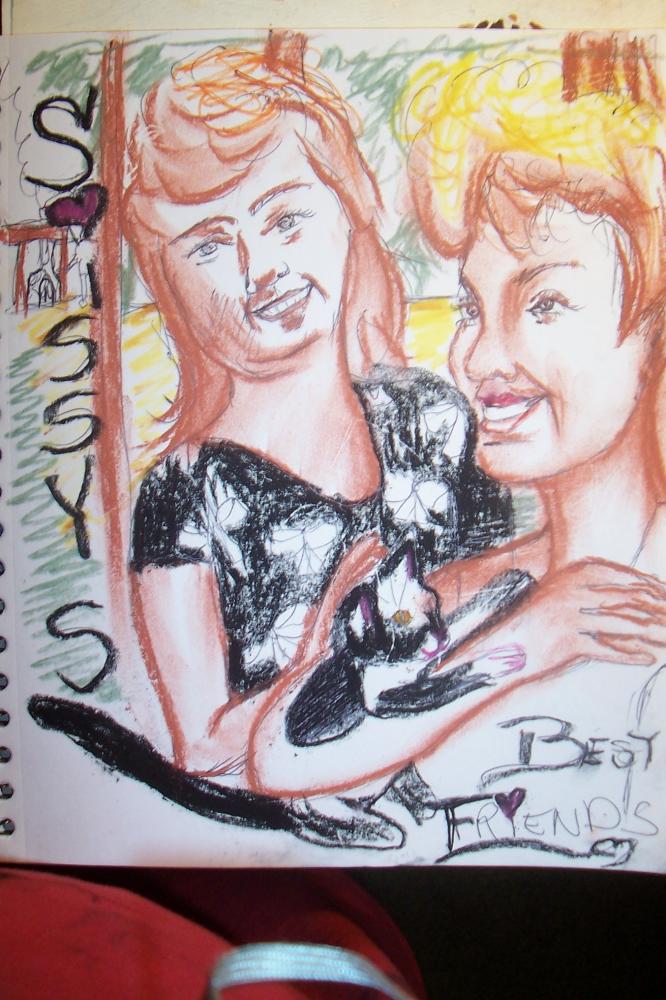 Shania Twain, Faith Hill by cindykron